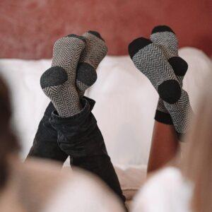 Chaussettes en laine homme et femme