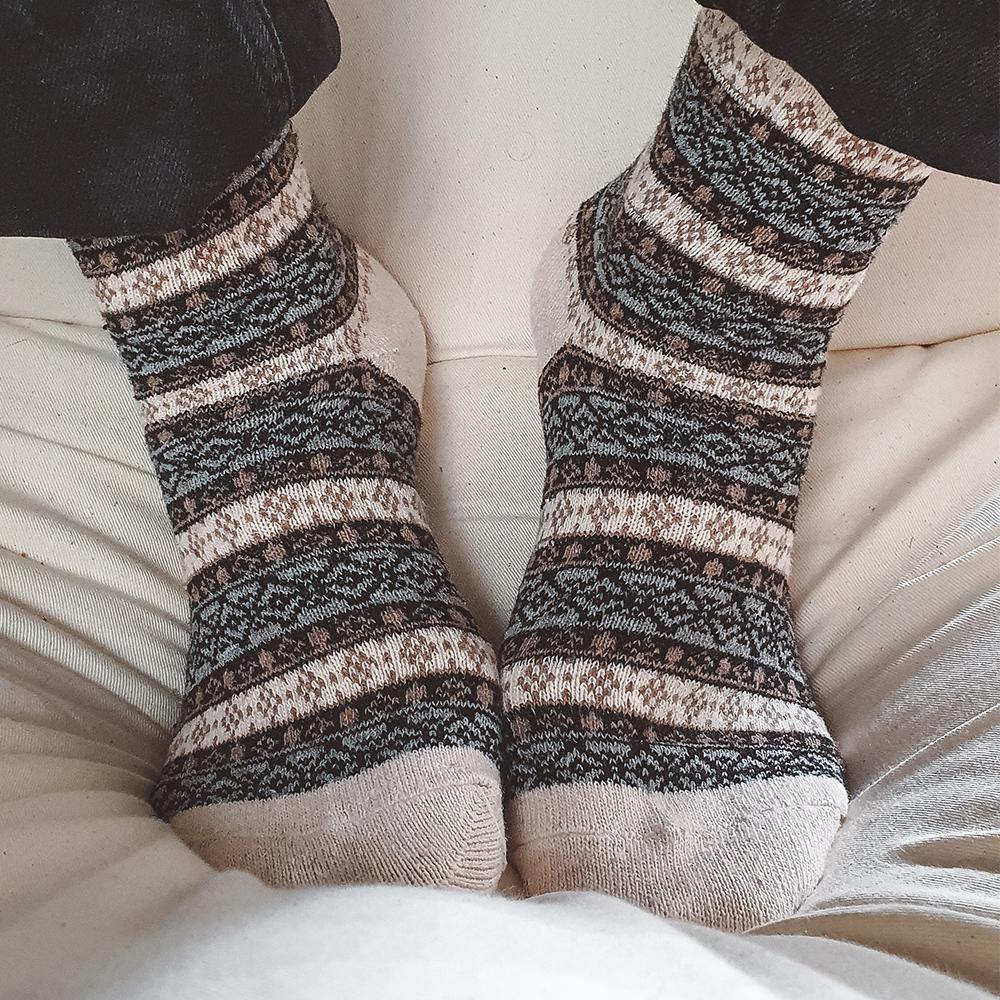 chaussette hiver homme et femme